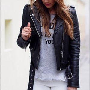 NWT Michael Kors Moto Jacket